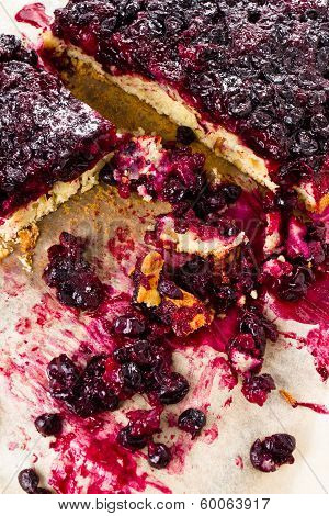 Currant Blueberry Pie With Oatmeal Crust