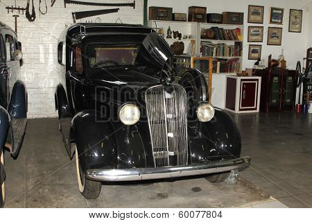 Vintage Car 1937 Chevrolet Hearse
