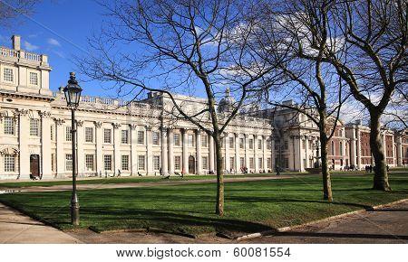 Greenwich park, Royal Navy college, Maritime museum  Greenwich university