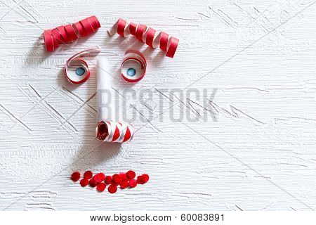 Face Of Carnival Decoration