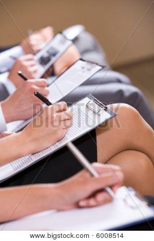 No seminário