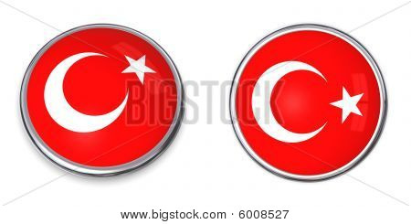 Banner Button Turkey