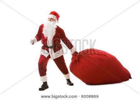 Carrying Heavy Sack