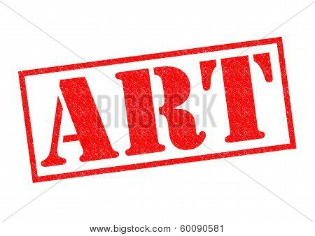 Art Rubber Stamp