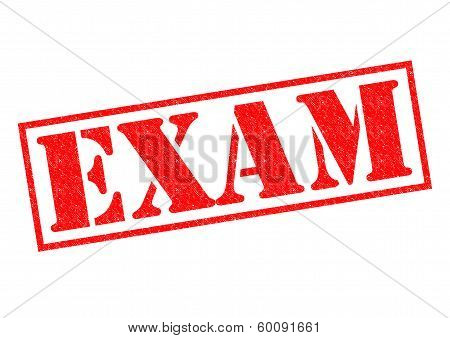 Exam Rubber Stamp