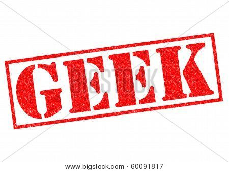 Geek Rubber Stamp