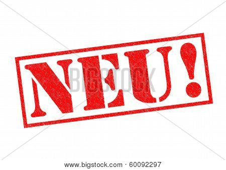 Neu! Rubber Stamp