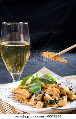 Chinese style chicken stir fry