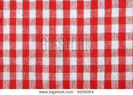 Traditional picnic tablecloth