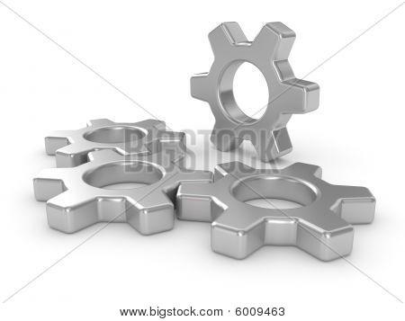 Engranajes industriales grandes