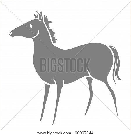 Gray Pony