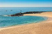 pic of cortez  - Sea of Cortez and beach on Cabo San Lucas Mexico - JPG