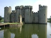 Front Of Bodium Castle