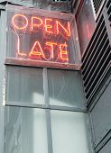 Open Late Sign (2)
