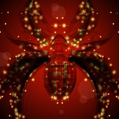 picture of black widow spider  - Abstract spider - JPG