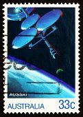 Postage Stamp Australia 1986 Aussat, Australian Communications S