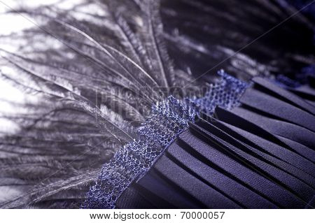 Elegant background image of fabric
