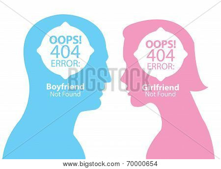 Boyfriend And Girlfriend Not Found