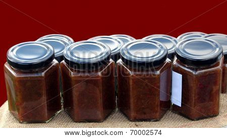 jars of dressing