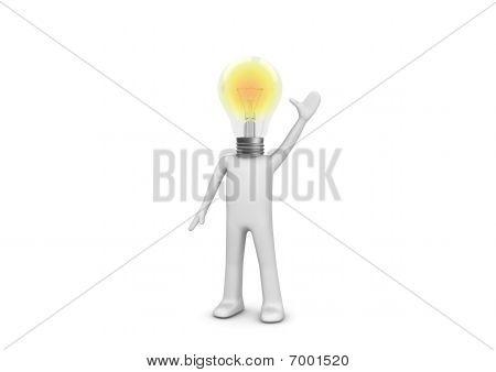 I Have An Idea - Lampy Man
