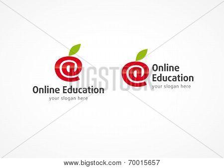 Online education logo