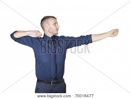 Businessman Shooting