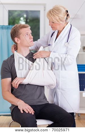 Sprain Of Glenohumeral Joint