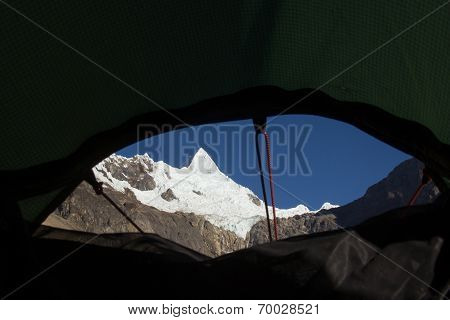 View From The Tent Window