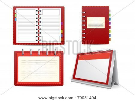 Datebook, Calendar And Organizer Set