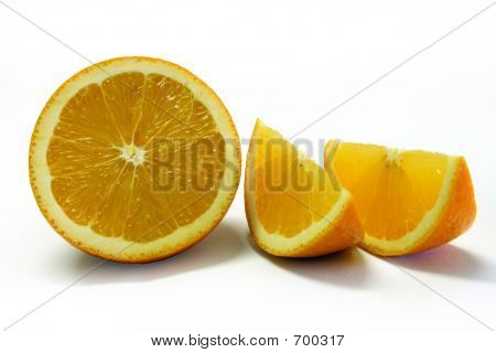 Freshly Cut Orange