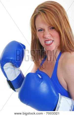Middle Aged Boxer