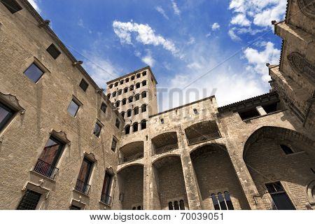 Palau Reial Major - Barcelona Spain