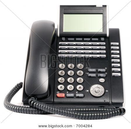 Digital Telephone Set Over White