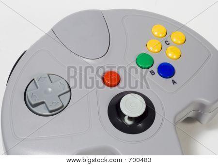 Game-Controller close up