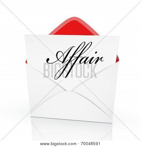 The Word Affair On A Card