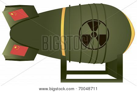 Chinese Aviation Atomic Bomb