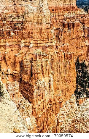 Majestic Rock Formations At Bryce Canyon N.p.