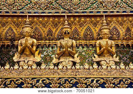 Mythical Garuda Statue - Bangkok
