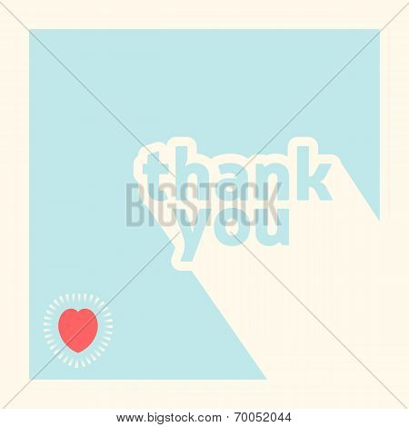 Thank You Card Design Template