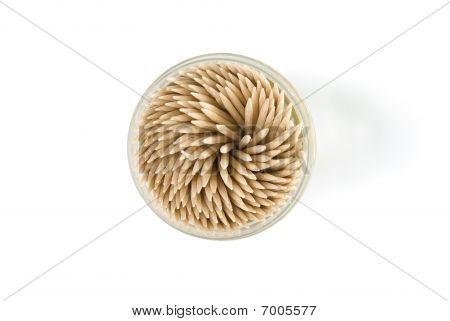 Closeup Box Of Toothpick