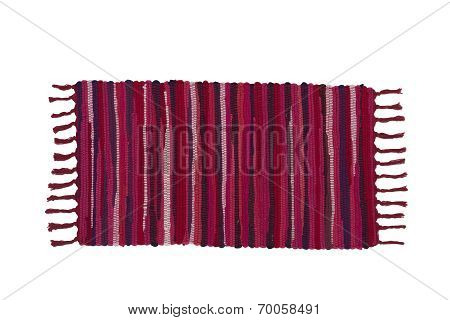 Colorful carpet or doormat