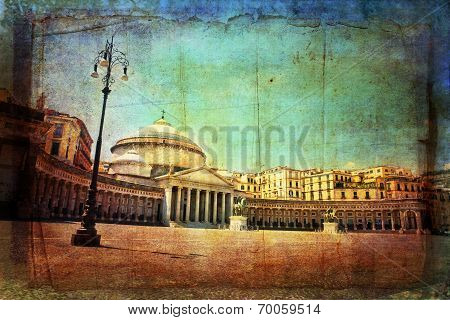 Piazza Del Plebiscito, Napoli
