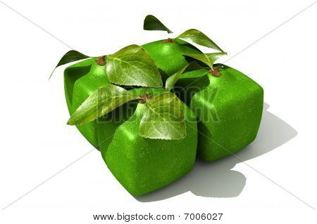 Pack Of Cubic Limes
