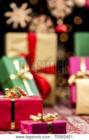 Xmas Gifts, Glitters and Stars