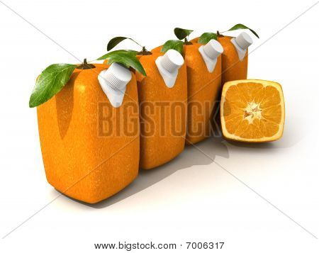 Four Orange Juices And A Half