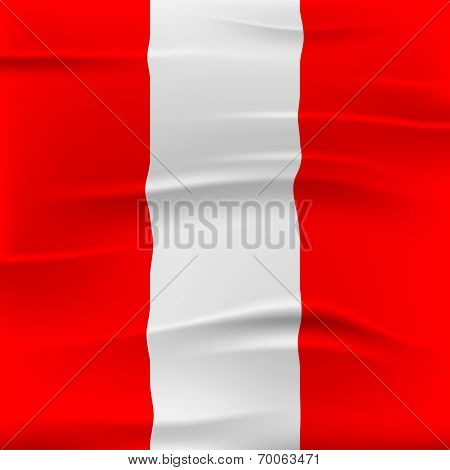 Austria Flag Shows Patriotism Austrian And Patriot