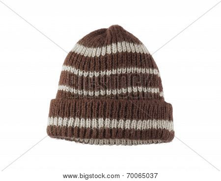 woolen knit hat