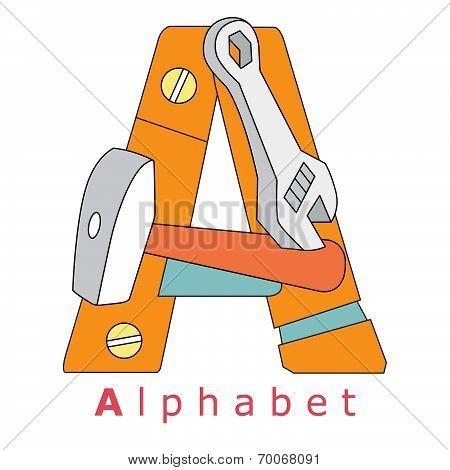 Letter A-alphabet
