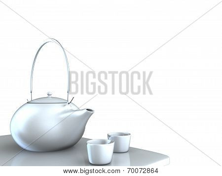 Teapot With Nice Background
