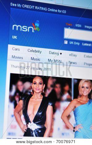 MSN website